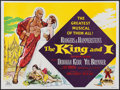 "Movie Posters:Musical, The King and I (20th Century Fox, 1956). British Quad (30"" X 40""). Musical.. ..."