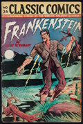 "Movie Posters:Horror, Classic Comics #26: Frankenstein (Gilberton Company, 1945). Magazine (Multiple Pages, 7"" X 10""). Horror.. ..."