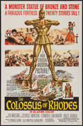 """Movie Posters:Adventure, The Colossus of Rhodes & Other Lot (MGM, 1961). One Sheets (2)(27"""" X 41""""). Adventure.. ... (Total: 2 Items)"""