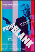 "Movie Posters:Crime, Point Blank (MGM, R-1998). British Double Crown (20"" X 30"").Crime.. ..."