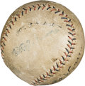 "Baseball Collectibles:Balls, 1920 ""Shoeless Joe"" Jackson & Buck Weaver Signed Baseball.. ..."
