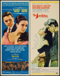 """Movie Posters:Drama, The V.I.P.s & Other Lot (MGM, 1963). Inserts (2) (14"""" X 36"""").Drama.. ... (Total: 2 Items)"""
