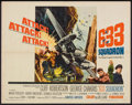 "Movie Posters:War, 633 Squadron (United Artists, 1964). Half Sheet (22"" X 28""). War....."