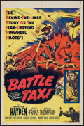 """Movie Posters:War, Battle Taxi & Other Lot (United Artists, 1955). One Sheets (2)(27"""" X 41""""). War.. ... (Total: 2 Items)"""