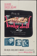 "Movie Posters:Drama, Baby Doll (Warner Brothers, 1957). One Sheet (27"" X 41""). Drama....."