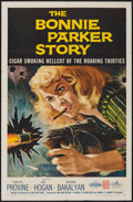 "Movie Posters:Crime, The Bonnie Parker Story (American International, 1958). One Sheet(27"" X 41""). Crime.. ..."