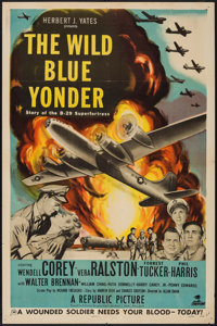 "The Wild Blue Yonder & Other Lot (Republic, 1951). One Sheets (2) (27"" X 41""). War. ... (Total: 2 Items)"