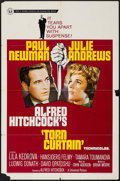 """Movie Posters:Hitchcock, Torn Curtain (Universal, 1966). One Sheet (27"""" X 41"""") & Lobby Cards (6) (11"""" X 14""""). Hitchcock.. ... (Total: 7 Items)"""