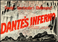 "Dante's Inferno (Fox, 1935). Pressbook (21.5"" X 16,"" 24 pages)"