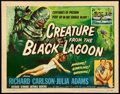 """Movie Posters:Horror, Creature from the Black Lagoon (Universal International, 1954).Title Lobby Card (11"""" X 14""""). Reynold Brown Artwork.. ..."""