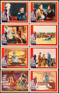 "Movie Posters:Science Fiction, The Day the Earth Stood Still (20th Century Fox, 1951). Lobby CardSet of 8 (11"" X 14"").. ... (Total: 8 Items)"