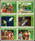 "Movie Posters:Horror, Creature from the Black Lagoon (Universal International, 1954).Lobby Cards (6) (11"" X 14"").. ... (Total: 6 Items)"