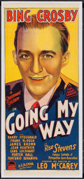 "Movie Posters:Drama, Going My Way (Paramount, 1944). Australian Daybill (13"" X 30"").Drama.. ..."