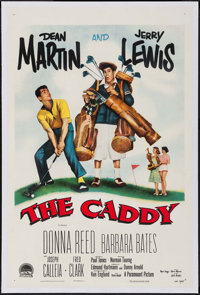 "The Caddy (Paramount, 1953). One Sheet (27"" X 41""). Sports"