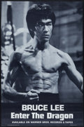 "Movie Posters:Action, Enter the Dragon (Warner Brothers Records, 1973). Soundtrack Poster(18.25"" X 27.5""). Action.. ..."