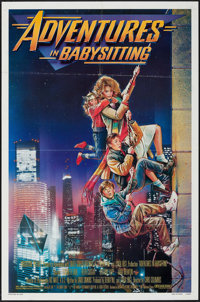 "Adventures in Babysitting & Others Lot (Touchstone, 1987). One Sheets (4) (27"" X 41""). Adventure..."