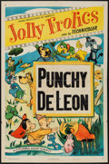 """Movie Posters:Animation, Jolly Frolics (Columbia,1950). Stock One Sheet (27"""" X 41"""") """"Punchy de Leon."""" Animation.. ..."""