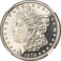 Patterns, 1879 $1 Morgan Dollar, Judd-1613, Pollock-1809, Low R.7, PR67 Cameo NGC....