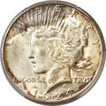 Peace Dollars, 1924-S $1 MS65+ PCGS....