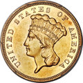 Proof Three Dollar Gold Pieces, 1886 $3 PR53 PCGS....