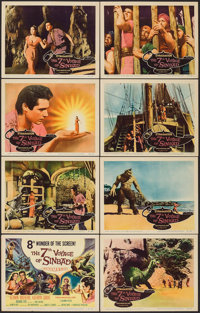 "The 7th Voyage of Sinbad (Columbia, 1958). Lobby Card Set of 8 (11"" X 14""). Fantasy. ... (Total: 8 Items)"
