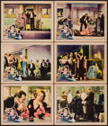"Movie Posters:Comedy, What a Widow! (United Artists, 1930). Lobby Cards (6) (11"" X 14"").Comedy.. ... (Total: 6 Item)"
