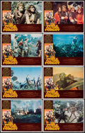 """Movie Posters:Science Fiction, The People That Time Forgot (American International, 1977). LobbyCard Set of 8 (11"""" X 14""""). Science Fiction.. ... (Total: 8 Items)"""