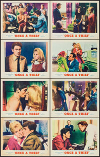 """Once a Thief (MGM, 1965). Lobby Card Set of 8 (11"""" X 14""""). Crime. ... (Total: 8 Items)"""