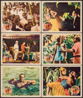 """Movie Posters:Comedy, Mr. Robinson Crusoe (United Artists, 1932). Lobby Cards (6) (11"""" X 14""""). Comedy.. ... (Total: 6 Items)"""