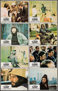 """Movie Posters:Crime, Serpico (Paramount, 1974). Lobby Card Set of 8 (11"""" X 14""""). Crime..... (Total: 8 Items)"""