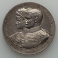 German States:Bavaria, German States: Bavaria. Otto silver Marriage Medal 1900 UNC, ...