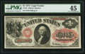 Fr. 19 $1 1874 Legal Tender PMG Choice Extremely Fine 45