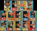 Baseball Cards:Lots, 1960 Topps Baseball Stars & HoFers Collection (14)....