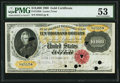 Large Size:Gold Certificates, Fr. 1225b $10,000 1900 Gold Certificate PMG About Uncirculated 53.....