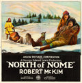 """Movie Posters:Action, North of Nome (Arrow Film, 1925). Six Sheet (80.5"""" X 81"""").. ..."""
