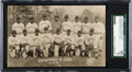 Baseball Cards:Singles (1930-1939), 1932 Harrison Studio Pittsburgh Crawfords Real Photo Postcard SGC 60 EX 5--Only Example Known!...