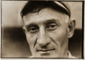 "Baseball Collectibles:Photos, Circa 1915 Honus Wagner ""Eyes"" Original News Photograph by CharlesConlon, PSA/DNA Type 1. ..."