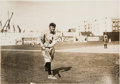 Baseball Collectibles:Photos, Circa 1910 Ty Cobb Original Photograph by Charles Conlon, PSA/DNAType 1....