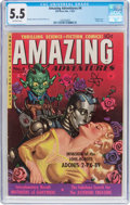 Golden Age (1938-1955):Science Fiction, Amazing Adventures #4 (Ziff-Davis, 1951) CGC FN- 5.5 Off-whitepages....