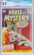 Silver Age (1956-1969):Horror, House of Mystery #48 (DC, 1956) CGC VF 8.0 White pages....