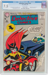 Detective Comics #233 (DC, 1956) CGC VF- 7.5 Off-white pages