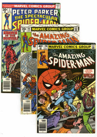 The Amazing Spider-Man Group (Marvel, 1969-82) Condition: Average NM-. Included are Amazing Spider-Man #76, 191, 195, 19...
