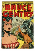Golden Age (1938-1955):Adventure, Bruce Gentry #1 (Superior, 1948) Condition: VG-. Ray Bailey strip reprints begin. E. C. emblem appears as a monogram on stat...