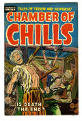 Golden Age (1938-1955):Horror, Chamber of Chills #22 (Harvey, 1954) Condition: FN+. Fiendish coverart from Lee Elias. Overstreet 2005 FN 6.0 value = $81; ...