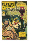 Golden Age (1938-1955):Classics Illustrated, Classics Illustrated #40 Edgar Allen Poe Mysteries - First Edition (Gilberton, 1947) Condition: FN-. Contains three of Edgar...