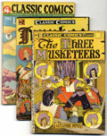 Golden Age (1938-1955):Classics Illustrated, Classic Comics/Classics Illustrated Reprints Group (Gilberton,1944-47). The following group consists of #1: (The Three Musk...(Total: 18 Comic Books)
