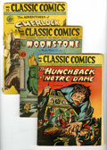 "Golden Age (1938-1955):Classics Illustrated, Classics Illustrated Group (Gilberton, 1944-52). Included are #7 (""Robin Hood,"" HRN 22, FR), 10 (""Robinson Crusoe,"" HRN 14, ... (Total: 14 Comic Books)"