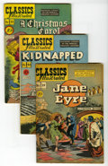 Golden Age (1938-1955):Classics Illustrated, Classics Illustrated First Edition Group (Gilberton, 1947-55)Condition: Average FN. These copies are in very nice condition...(Total: 10 Comic Books)