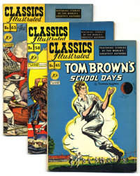 Classics Illustrated First Edition Group (Gilberton, 1948-56) Condition: Average FN/VF. This group consists of eight han...