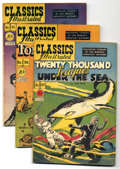 Golden Age (1938-1955):Classics Illustrated, Classics Illustrated First Edition Group (Gilberton, 1948-55) Condition: Average VG/FN. Experience the great classics throug... (Total: 18 Comic Books)